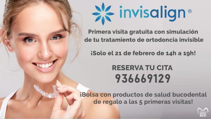 Primera visita gratuita ortodoncia invisible de Invisalign
